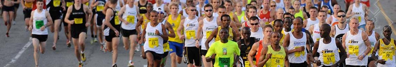 Marathon lopers topvisual